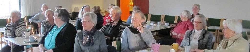 Interesserede tilhørere ved et foredrag med Ege Arp-Hansen.